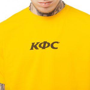 Yunost x KFC Yellow T-Shirt – Unisex