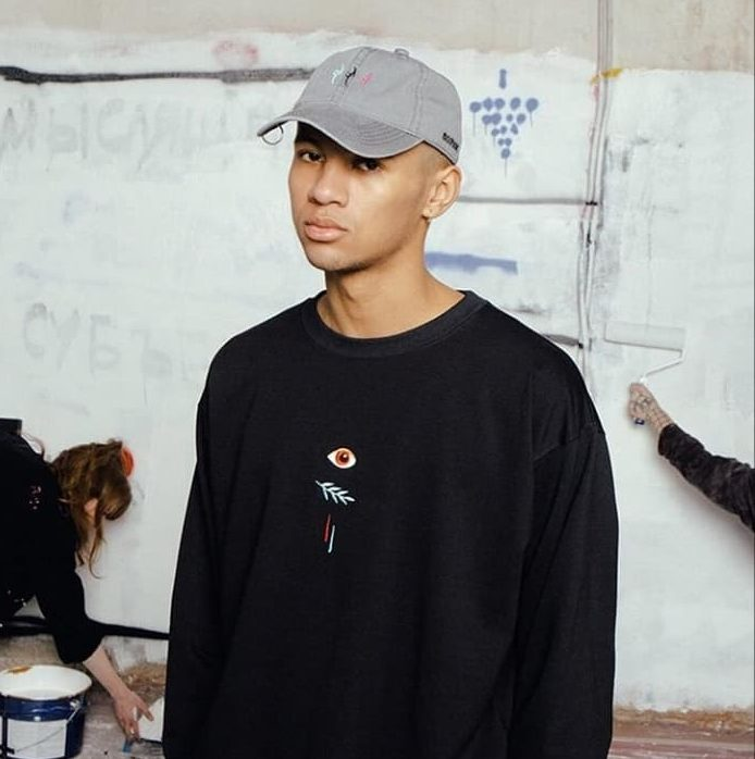 volchok sweatshirt and cap from lookbook