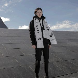 Kruzhok Dawn of the Space Age Scarf