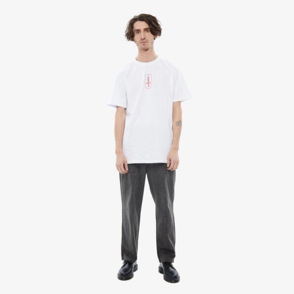 Mech Russian Streetwear Moscow White T-Shirt
