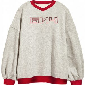 BICH Vintage Sweatshirt Red