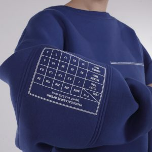 Kruzhok Time Sweatshirt Blue