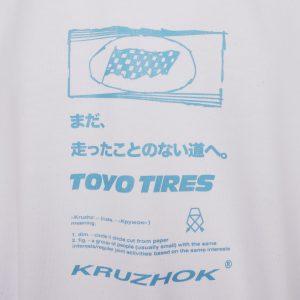 Kruzhok x Toyo Tires Toyo T-Shirt White