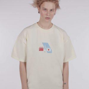 Kruzhok Japan T-shirt Beige