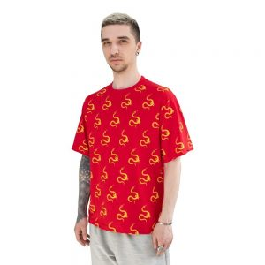 Volchok Eurosnake T-shirt Red/Yellow