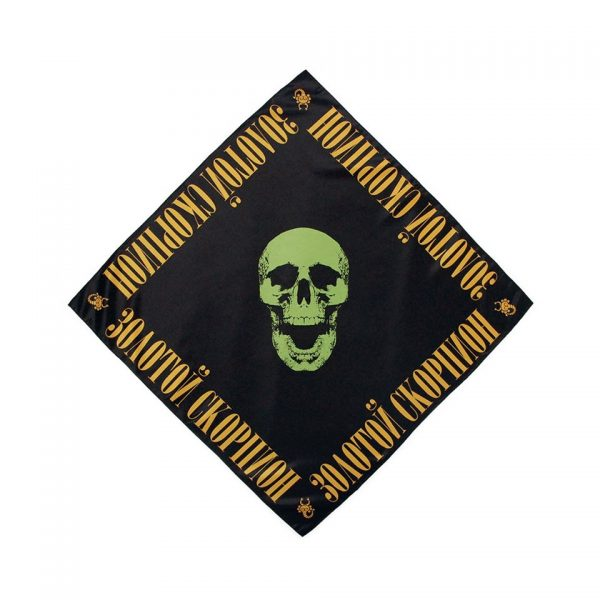 La Russe Skull Bandana Black