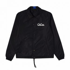 Wolee Arabic Logo Coach Jacket