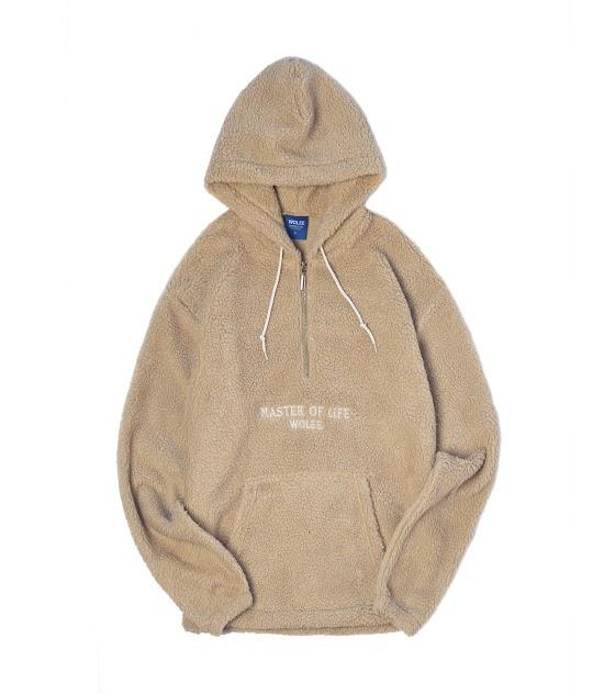 Wolee Sherpa Hoodie