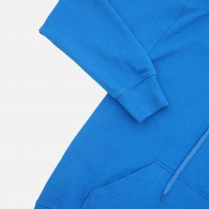 Mech Heavy Blank Hoodie Blue