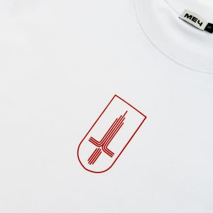 Mech Moskva Heavy Cotton T-shirt White