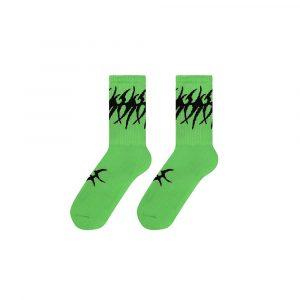 Volchok Tribal Socks Green