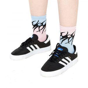 Volchok Tribal Socks Blue/Pink